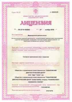 Лицензия №1